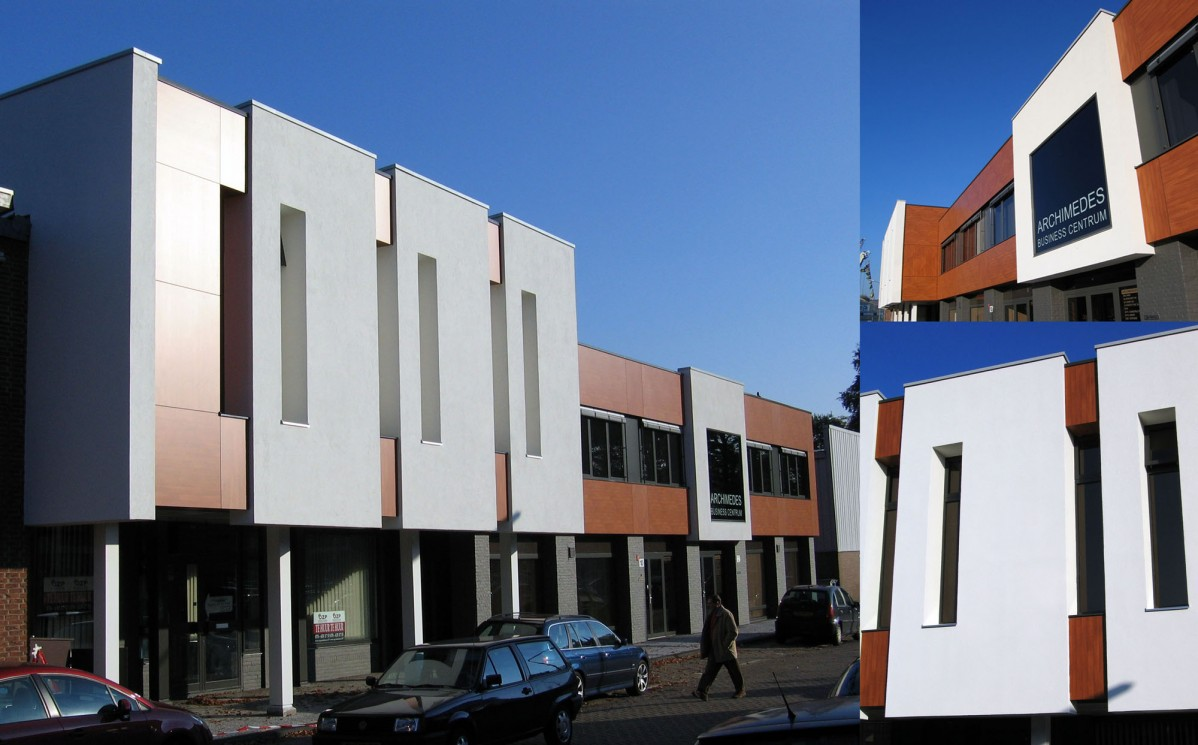 Renovatie archimedes business centrum stijl architectuur bv bna - Architectuur renovatie ...