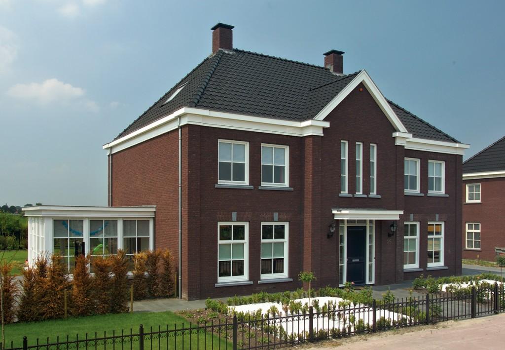 Nieuwbouw notariswoning waspik stijl architectuur bv bna - Decoratie stijl van de bergen ...