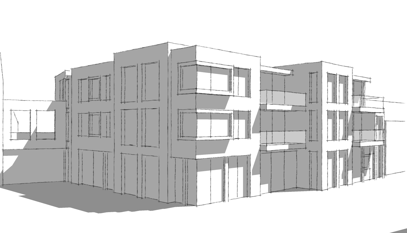 Hendrik-Ido-Ambacht - Utiliteitsbouw - Woningbouw - Kromme Nering Nijverheid